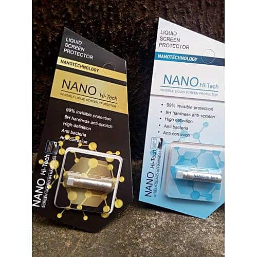 Nano tech liquid screen protector