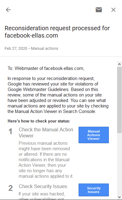 maual actions fix penalty