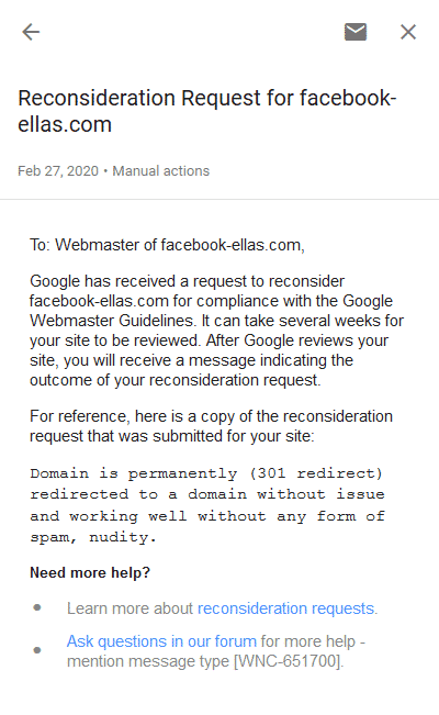 How to Fix Google Manual Action Penalty on Expired Domains 2020 3